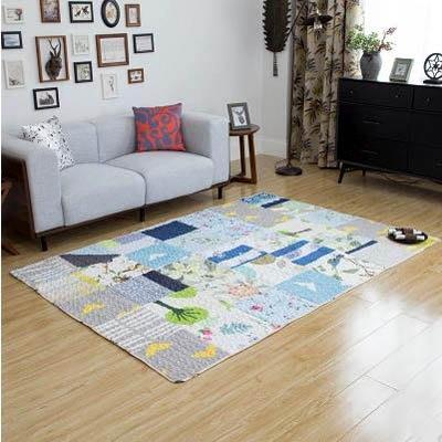 【碎布拼接大地毯-90*150cm-1...