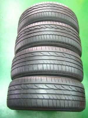 中古普利司通輪胎   ER300 205/55/16 ***極新.法國製***