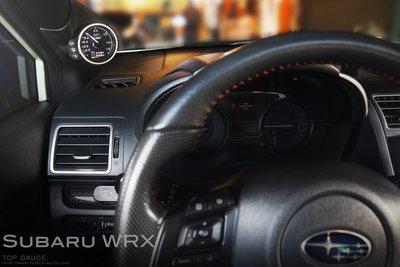 【精宇科技】Subaru WRX 專車專用 A柱錶座