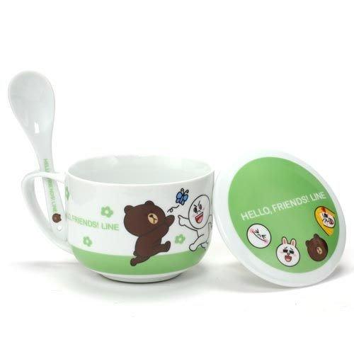 東京家族 LINE 熊大 悠閒時光陶瓷碗組