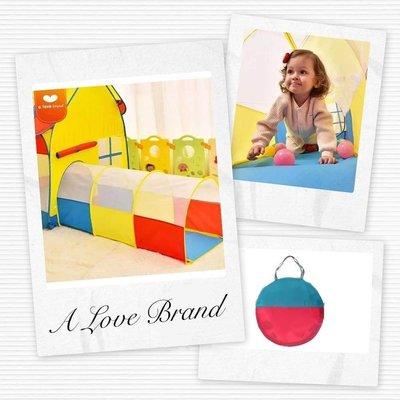 拱形三色隧道筒 Arched three-color tunnel for baby boys girls