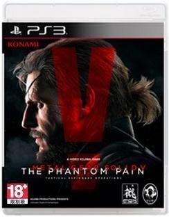 小菱資訊站《PS3》【潛龍諜影 5 幻痛/ Metal Gear Solid V】亞洲日文版~新品出清、全館滿999免郵