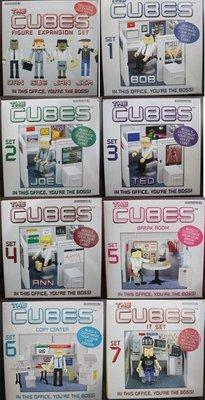 【亞洲航線】歐美購THE CUBES ACCOUTREMENTS  人偶小隔間辦公室套裝新奇玩具