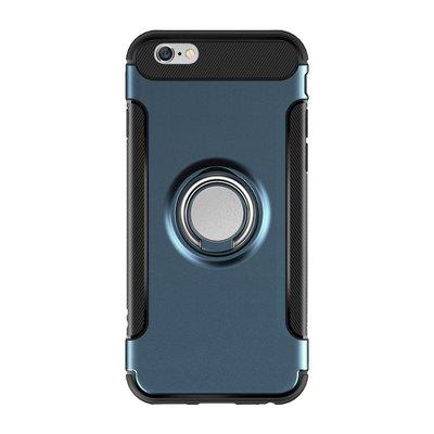 丁丁 磁吸車載手機殼 OPPO R11S Plus 帶指環扣 r11 plus 支架功能 全包手機保護套 防摔抗震