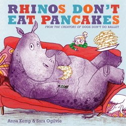 *小P書樂園*Rhinos Don't Eat Pancakes
