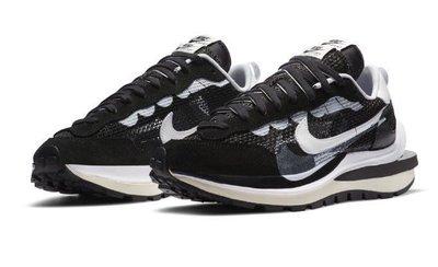 Nike Vaporwaffle sacai Black White 黑白色