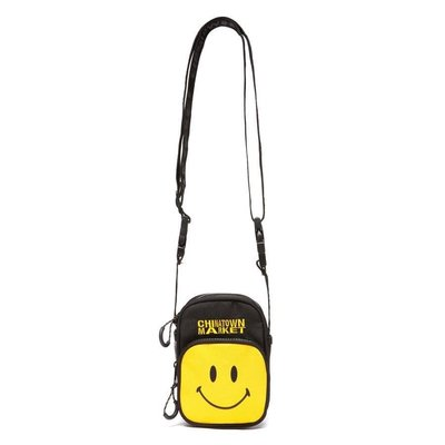[FDOF] 預購 CHINATOWN MARTKET SMILEY CAMERA BAG 黃色 微笑 笑臉相機包