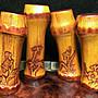 梅蘭竹菊 竹雕小品 可當隨形章或吊飾  有孔洞可穿錦繩   特惠品