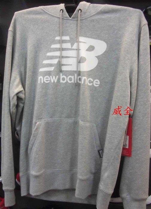 【威全全能運動館】New Balance紐巴倫 保暖 運動 休閒 長袖上衣 現貨保證正品公司貨 男款AMT63551AG