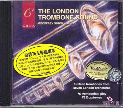 倫敦76支喇叭 倫敦長號之聲 斯托科夫斯基 原裝進口CD CACD0108-百雅音像