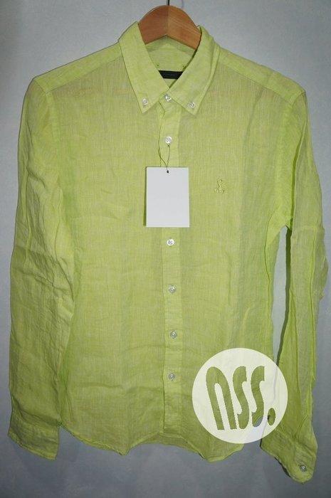特價「NSS』SOPHNET LINEN CLOTH B.D SHIRT 蠍子刺繡 亞麻 長袖襯衫 M L