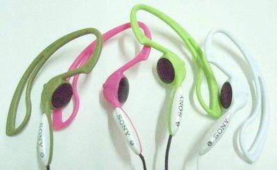 非仿品,日本 SONY MDR-J10 耳掛式 運動型立體聲耳機,適 電腦 錄音筆 MP3 ...,簡易包裝,近全新