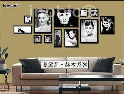INPHIC-超大12框實木照片牆相框牆相片牆相框組合