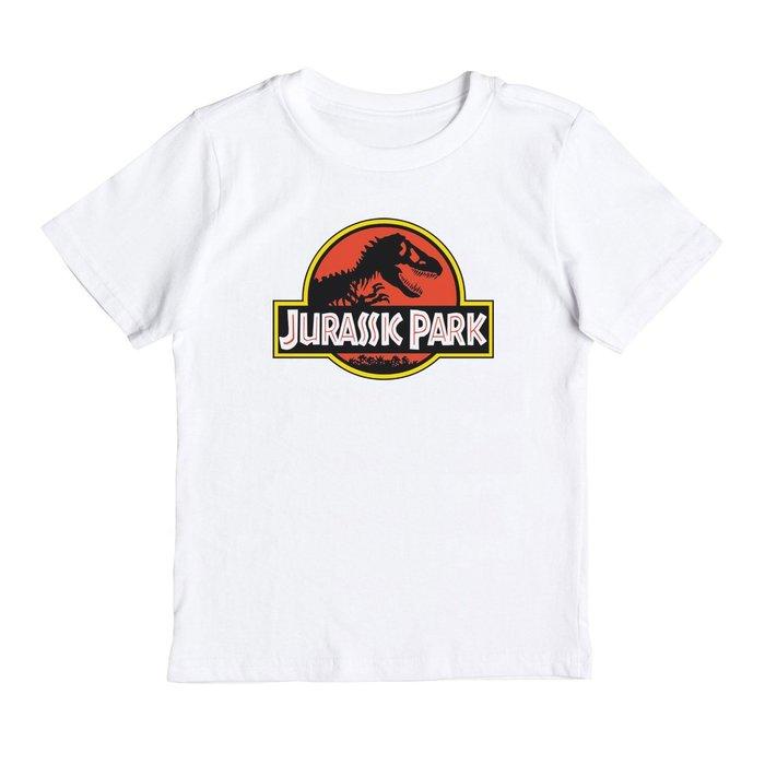 Jurassic Park 兒童短袖T恤 白色 童裝嬰幼兒 侏儸紀公園電影恐龍變種暴龍