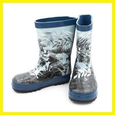 ZIHOPE 兒童雨靴 兒童雨鞋 環保橡膠 防滑加厚印花ZI812