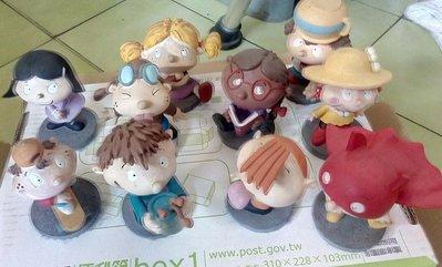我們這一班 公仔娃娃10個一起賣 701元起標!