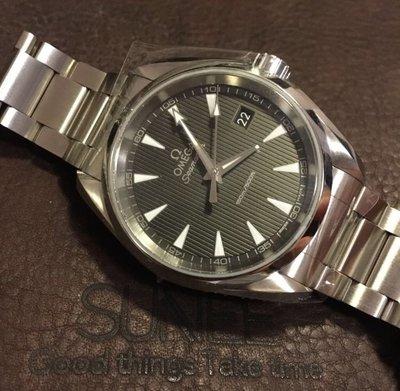 Omega Seamaster AQUA TERRA石英腕錶