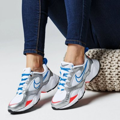 南◇2020 7月 NIKE AIR HEIGHTS CI0603-101 韓國限定 慢跑運動訓練 女鞋 白藍銀橘色