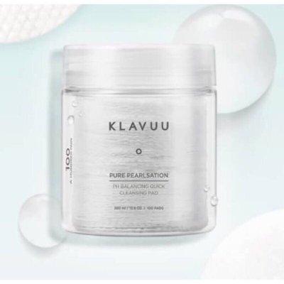 Pai.K韓國連線-韓國美妝- KLAVUU -平衡潔面卸妝棉片