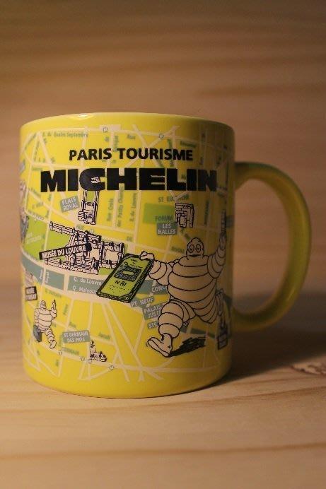 (I LOVE樂多)MICHELIN 米其林 地圖標示印刷 馬克杯 (黃款)多種相關商品供你選擇喔