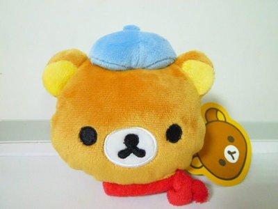 日本限定San-x 輕鬆 懶懶熊 拉拉熊 小畫家 造型玩偶娃娃 零錢包