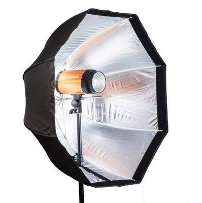 80CM八角柔光傘【NF588】傘式八角柔光箱 傘式 閃光燈 柔光箱 燈罩 攝影棚 八角柔光傘