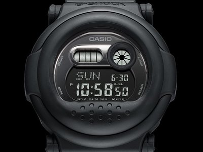 佐敦門市 現貨 100% 全新 Casio G-Shock G-001BB-1 BB(Black Out Black)Series 一年保養