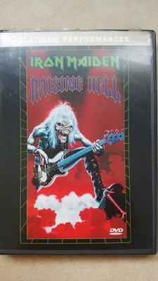 美版DVD Iron Maiden 鐵娘子合唱團 - Raising Hell