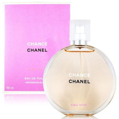 Chanel Chance Eau Vive 橙光輕舞 女性淡香水EDT 100ml
