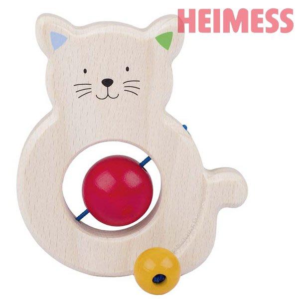 【德國製!】HEIMESS 咬咬貓嬰幼兒玩具 ~ 歐盟CE認證【無毒、耐唾液】【G0063】