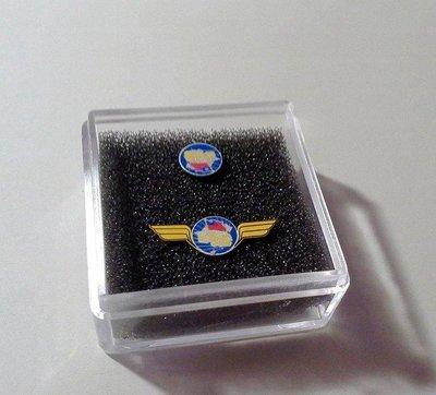 光華號 N規 頭牌一小盒:(有翅膀跟圓形,各一款,用透明壓克力盒包裝)