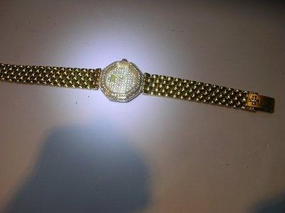 東京二手名品~681~~江詩丹頓 18K金(750)  原裝女鑽表~~原鑲鑽表~6/7日已由同行老彭轉售