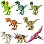 小頑童 LEGO樂高式 YG 77001 侏儸紀世界系列 恐龍  全套共8款 現貨! 1111特價!