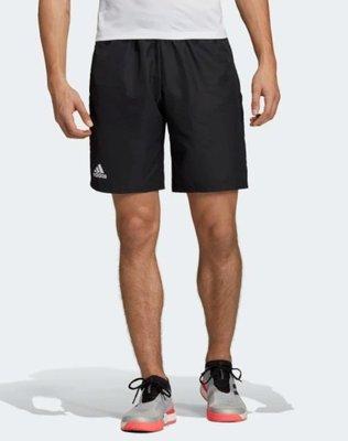 【豬豬老闆】ADIDAS CLUB SHORTS 9-INCH 黑 運動 訓練 網球 短褲 男款 DU0877