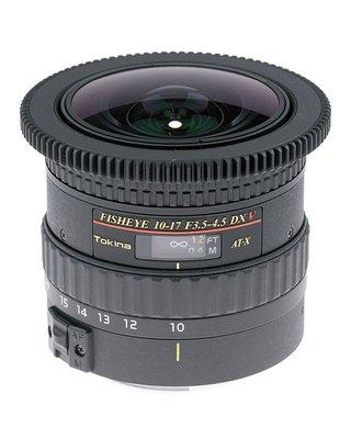 ◎相機專家◎ TOKINA AT-X107 F3.5-4.5 DX V NH Fish Eye 魚眼 Canon 公司貨