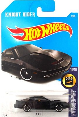 風火輪Hot Wheels1:64 Knight Rider KITT 霹靂遊俠非復仇百獸王GX88