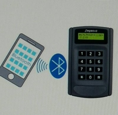 門禁防盜器材pegasus PP-6750V 液晶顯示門禁考勤感應讀卡機(門禁 / 出勤 刷卡機  磁力鎖 電磁鎖