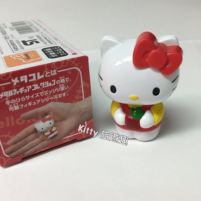 [Kitty 旅遊趣] Hello Kitty 超合金 凱蒂貓 公仔 Tomy 玩具 頭可以轉動 站姿 特價
