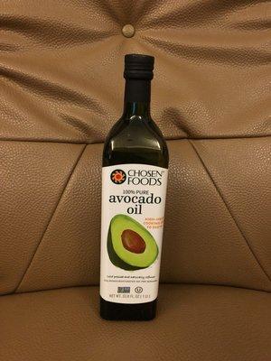 CHOSEN FOODS酪梨油100%一瓶1公升  419元--可超商取貨付款
