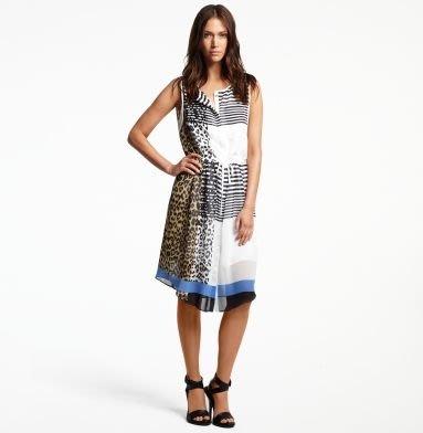大降價!全新Kenneth Cole 混色高質感設計款洋裝,典雅中帶點狂野俏皮的神秘!情人節生日最佳贈禮!無底價!免運費