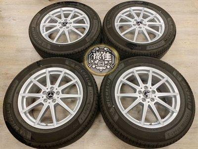 新車落地 #BENZ #W167 #GLE 正原廠18吋鋁圈含米其林胎
