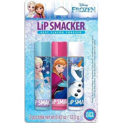 Lip Smacker 限量款 [ 迪士尼冰雪奇緣護唇膏 ] Disney Frozen 三支組 全新品