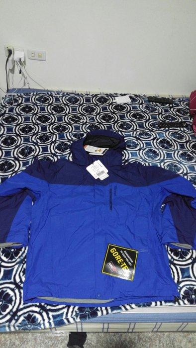 絕對買不到的價格!全新Marmot 男 GORE-TEX 防風防水保暖兩件式外套30420,藍色/綠色L號各一件,歡迎面交!賠錢賣9999元