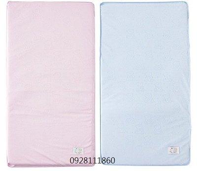 台灣製造奇哥冬夏兩用立體透氣床墊 嬰兒大床適用粉紅色粉藍色嬰兒床墊