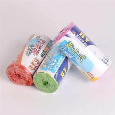 USB延長線Thickened color vest type garbage bag household new materia