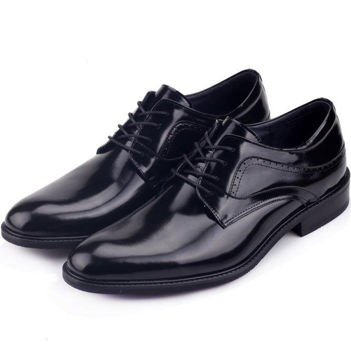 至尊經典牛亮皮 堅持MIT打造手工真皮鞋 上班鞋