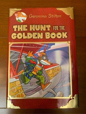 老鼠記者 Geronimo Stilton - The Hunt for The Golden Book 精裝本