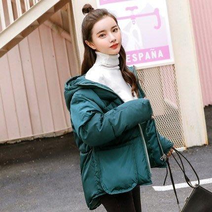 羽絨外套 韓版棉襖女2019冬季新款外套INS棉服加厚短款學生棉衣蓬蓬面包服