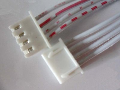 雙頭線 2.54-4P XH-4P 長20CM(H3A5)(8條)   W72 [280212-043]