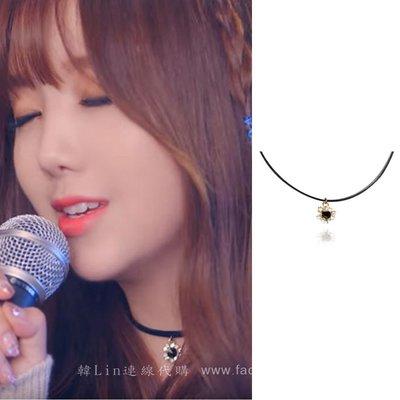 【韓Lin連線代購】韓國 GET ME BLIN-明星同款施華洛世奇鑽短項鍊 MIRACLE MINI NECKLACE